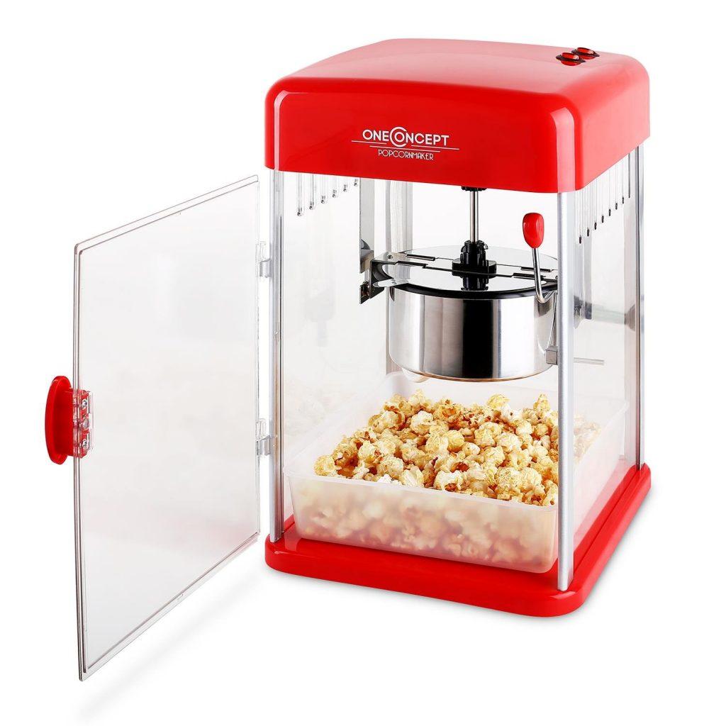 Klarstein Rockkorn - máquina de palomitas de maíz , retro